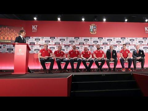 The Squad Announcement Press Conference | British & Irish Lions