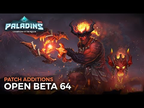 Paladins - Open Beta 64 Patch Additions