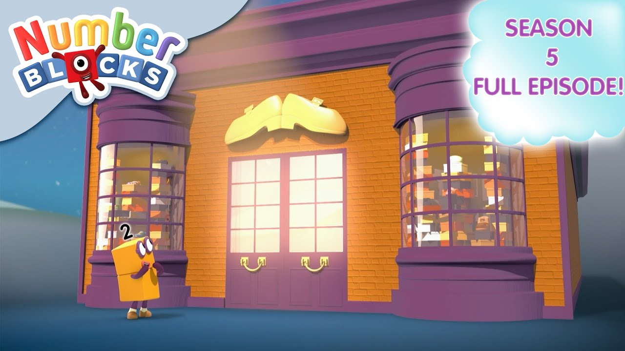 Download @Numberblocks- Two Times Shoe Shop 👟| Multiplication | Season 5 Full Episode 9 | Learn to Count