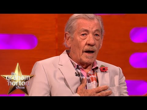 Sir Ian McKellen Is Discovering His Inner Pussy   The Graham Norton Show