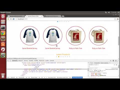 Creating an E-Commerce Site with Ruby on Rails - 3