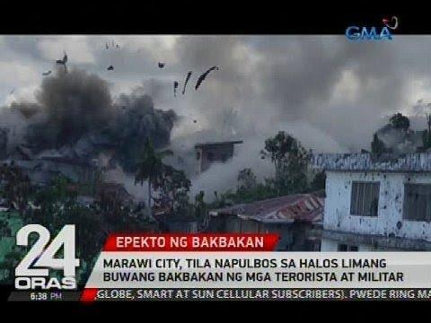 Marawi City, tila napulbos sa halos limang buwang bakbakan ng mga terorista at militar