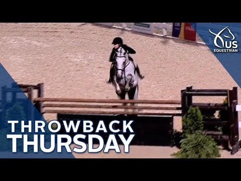 Throwback Thursday: 14-Year-Old Lillie Keenan&39;s  Hunter Derby Win