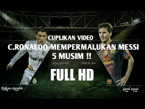 Ronaldo Permalukan Messi 5 Musim ● HD Ready