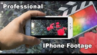 Make IPhone Footage Look Professional in Final Cut Pro X