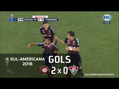 Atlético Paranaense 2 X 0 Fluminense - Semifinal Sul-Americana 2018