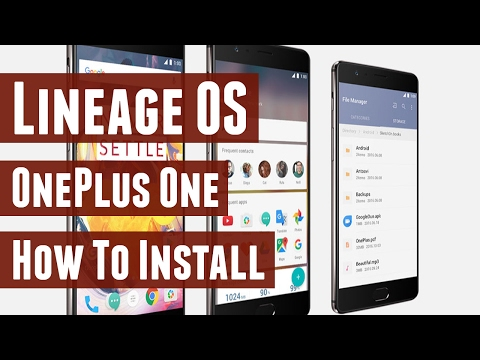 How to Install Lineage OS on OnePlus One - YouTube
