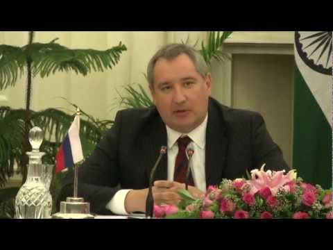 Joint Press Interaction during the visit of Deputy PM of Russia - part 1 of 2