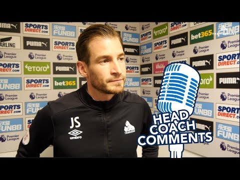 📹 HEAD COACH COMMENTS |  Jan Siewert on Newcastle defeat