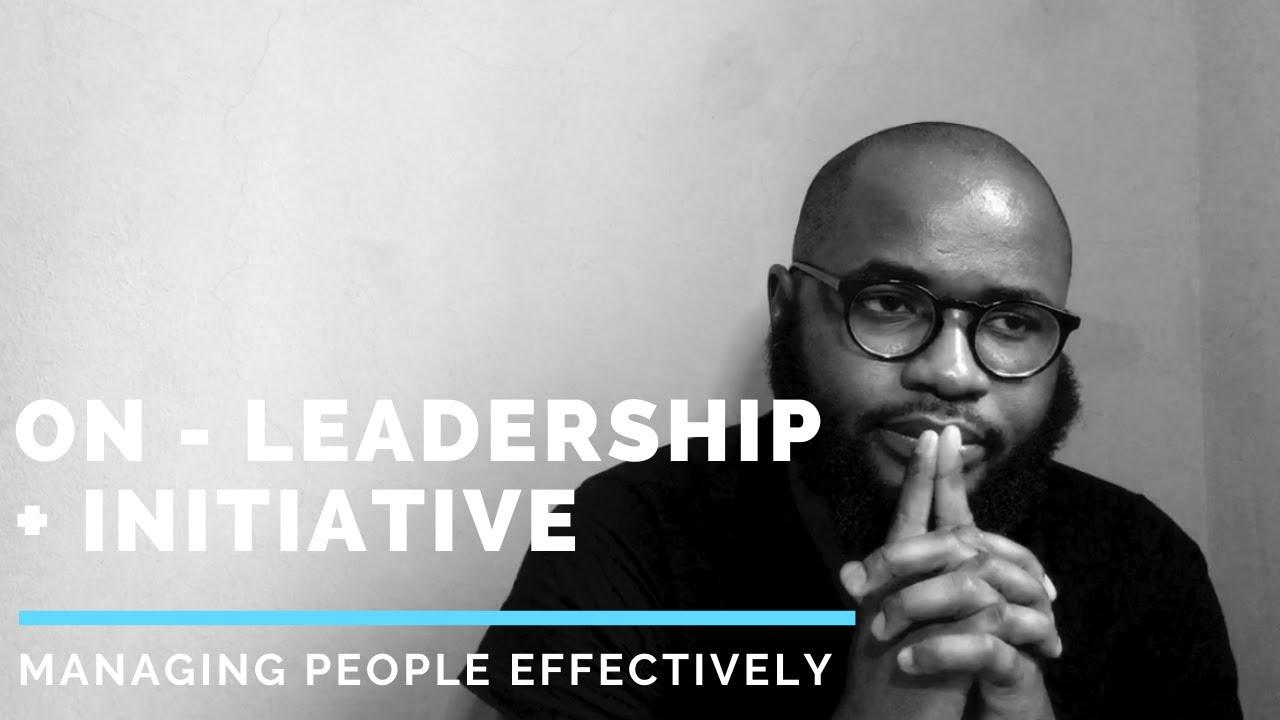 A5.  Leadership + Initiative