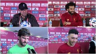 Liverpool Reach Club World Cup Final!   Klopp, Salah, Alisson & The Ox React