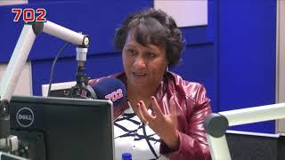 Ellen Pakkies on 702 with Azania Mosaka