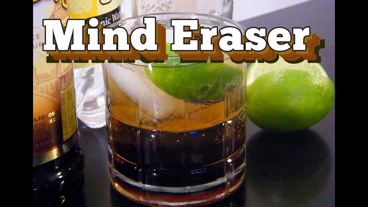 Mind eraser mixed drink