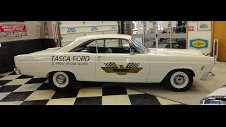 1966 Ford Fairlane Holman Moody Tribute Replica Car with Start Up on My Car Story with Lou Costabile
