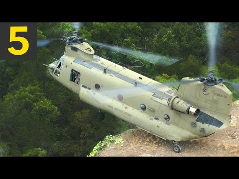 Top 5 INCREDIBLE Helicopter Maneuvers
