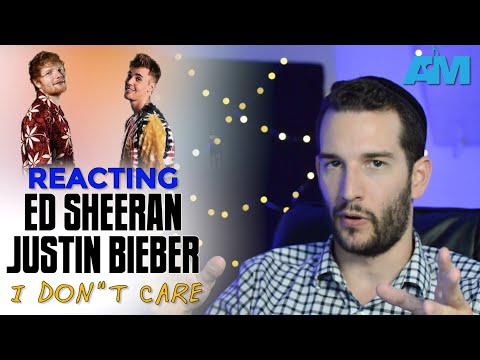 "VOCAL COACH reacts to JUSTIN BIEBER and ED SHEERAN singing ""I DON'T CARE"""