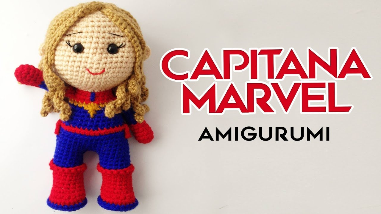 Capitán América amigurumi tutorial - YouTube | 720x1280