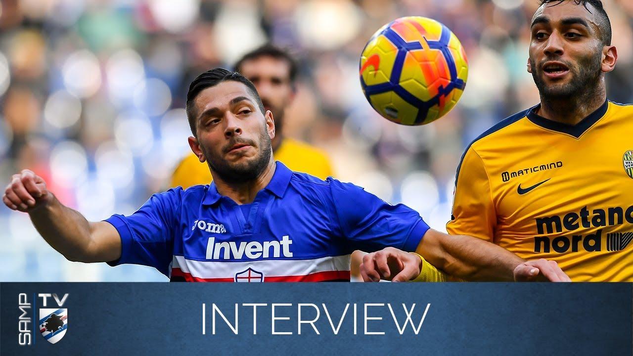 Sampdoria-Hellas Verona, Caprari: «Vinto con intelligenza»