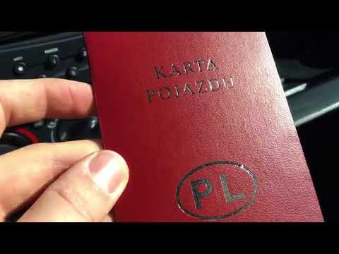 Что нужно знать для покупки авто на польской регистрации. Какие документы и что проверить.