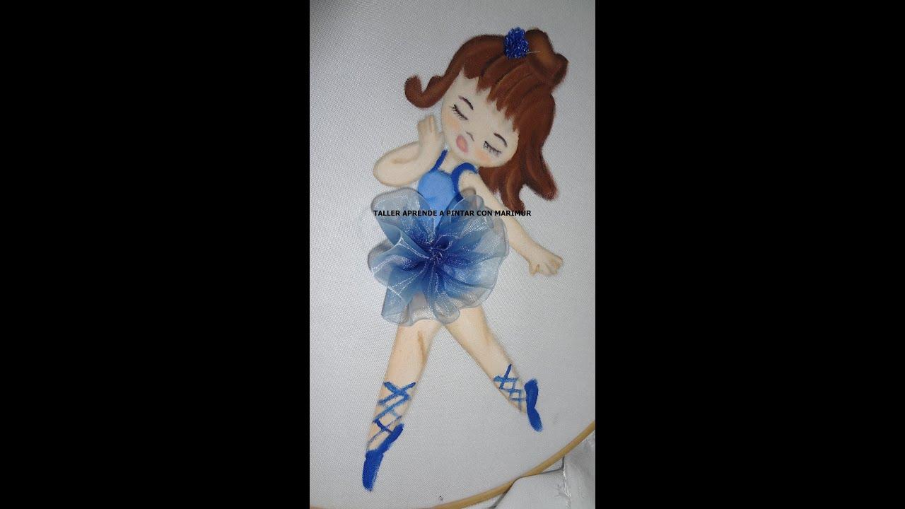 Pintura en tela pintemos piernas cabello zapatillas y - Pintura en tela dibujos ...
