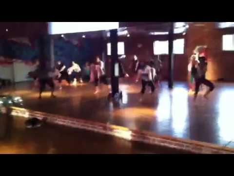 Durante Lambert - West African Dance Class