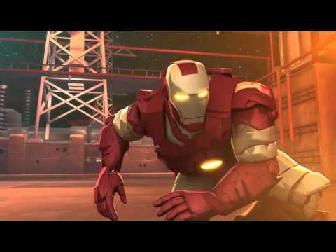 Iron man  Hulk heroes united 2013