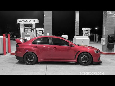 HOW TO INSTALL MITSUBISHI EVO X LOWERING SPRINGS | MITCH DORE