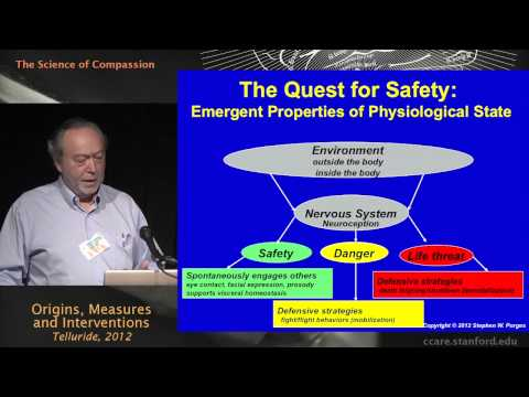 The Science of Compassion: Origins, Measures, and Interventions - Stephen Porges, Ph.D.