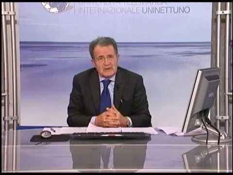 Prof. Romano Prodi - La crisi economica dagli Stati Uniti all