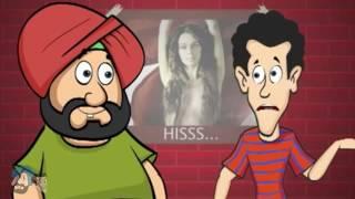 Official Santa Banta Funny Video Collection 2010   Comedy Jokes in Hindi   Wapsow Com