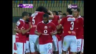 هدف الأهلي الثاني في أسوان مقابل 0 ايفونا الدوري 12 مايو 2016