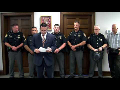 Central Ohio Crime Stoppers award Franklin County Sheriff Deputies