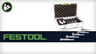 Festool ZOBO Forstner-Style Drill Bit Set (500173/500174)