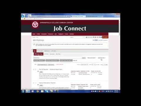 Navigating Job Connect - Part 2