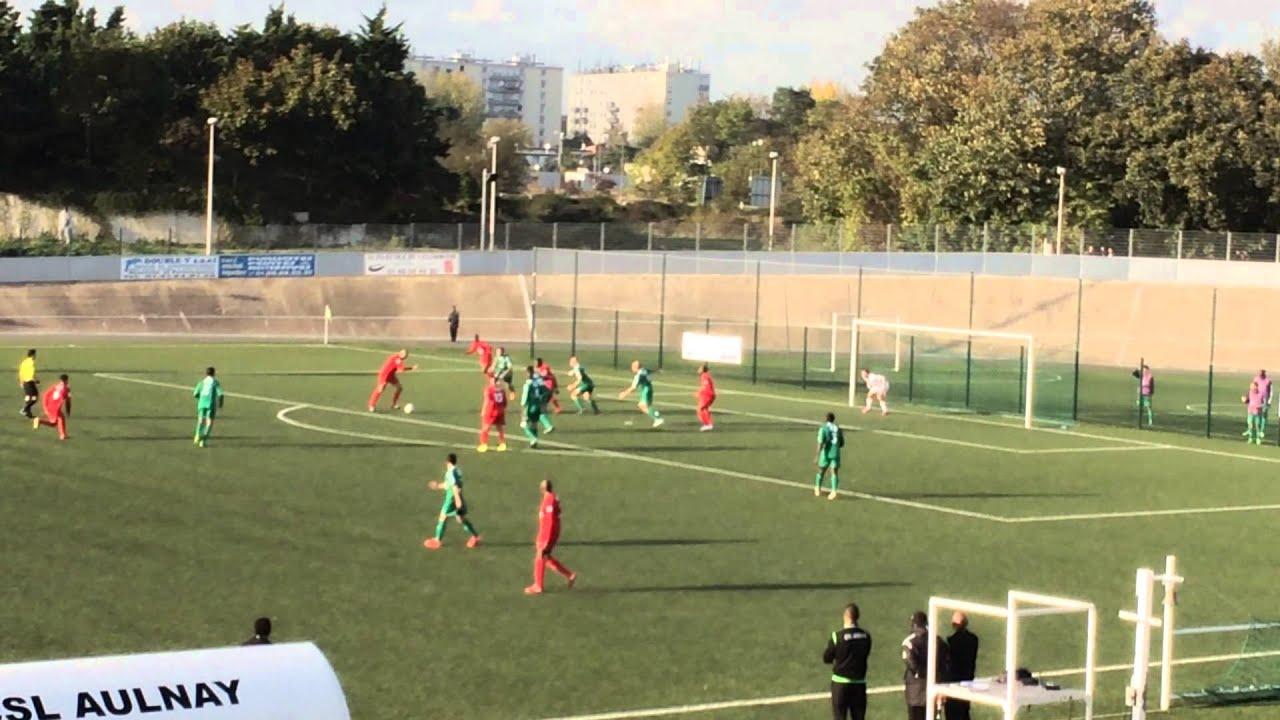 AulnaysousBois  Red Star FC 2  3  1er but du CSL AulnaysousBois