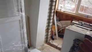 видео Как установить балконный блок с дверью