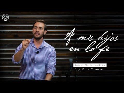 """Serie: A Mis Hijos En La Fe """"Salvados Y Encomendados Con El Evangelio"""" Carlos 'Cate' Alvarado"""