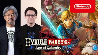 Hyrule Warriors Age Of Calamity Announced For Switch Gematsu