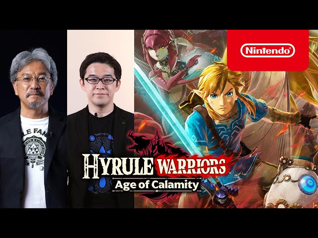 Hyrule Warriors Age Of Calamity Takes Place 100 Years Before Breath Of The Wild Trailer Lrm