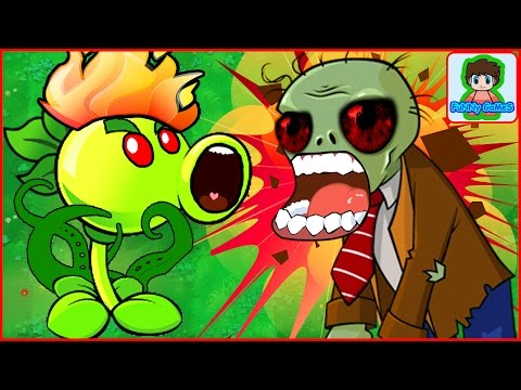 Игра Растения против зомби от Фаника Plants vs zombies 1