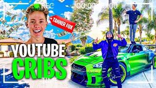 YouTube Cribs! Tanner Fox's Multi Million Dollar Empire!