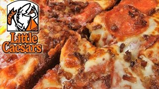 Little Caesars Bacon Wrapped Crust Pizza Review