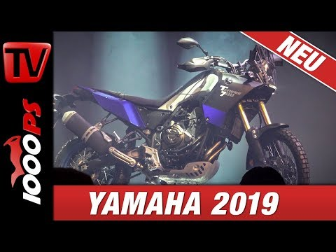 Yamaha Motorcycles ! Tenere  ! First Look at EICMA - technical Details - Price - News