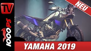 Yamaha Motorcycles 2019! Tenere 700 ! First Look at EICMA - technical Details - Price - News