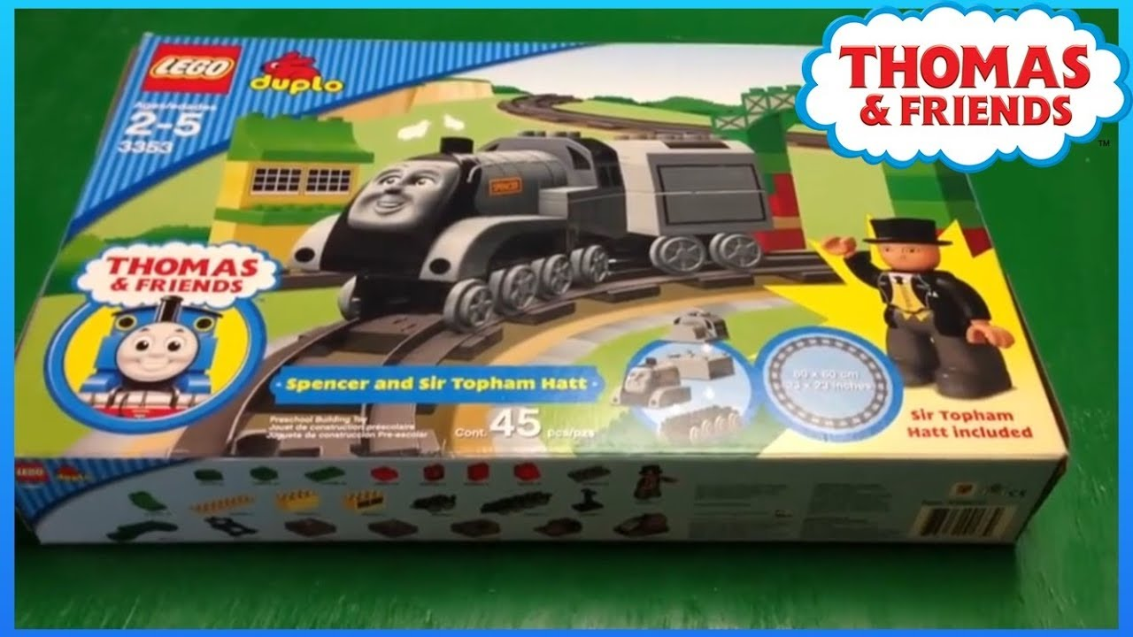 Thomas And Friends Lego Duplo 3353 Spencer Sir Tophamm Hatt Toy