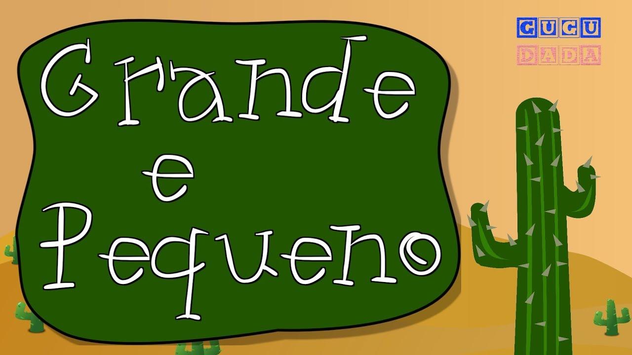 GUGUDADA - Grande e Pequeno (animação infantil)