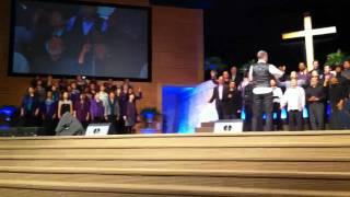 """Total Praise"" Kirk Franklin  ALCF Celebration Choir"