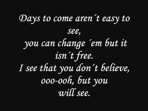 Sonata Arctica - Mary Lou (Acustic version- Lyrics)