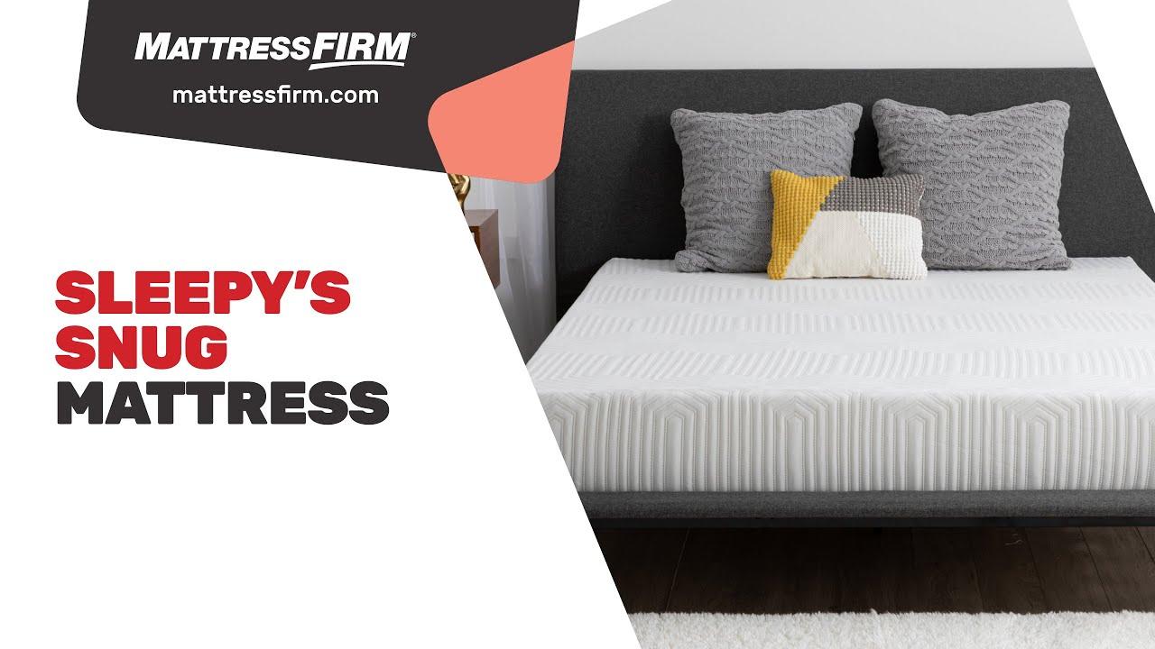 sleepy s snug memory foam mattress