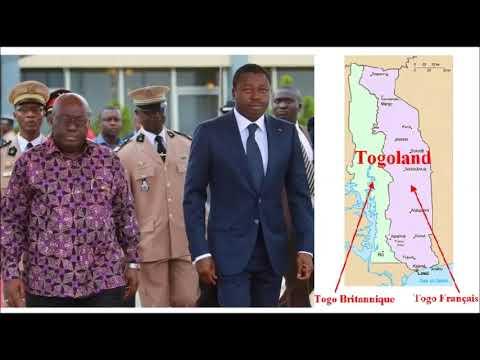 Le Ghana torpille la lutte démocratique au Togo à cause de l'affaire du Togo Britannique (Togoland)